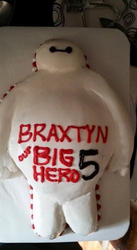 big hero cake