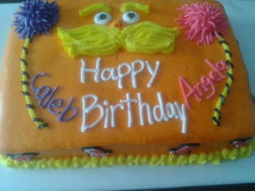 lorax type cake