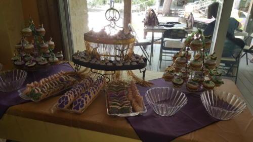 banquets sweets bar full set up