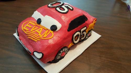 Bday car cake