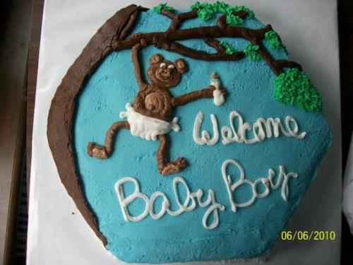 monkey welcome baby