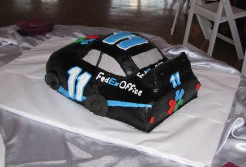 race car back 3d